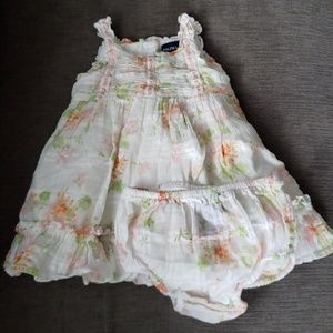 Beautiful Ralph Lauren Tiered Floral Dress